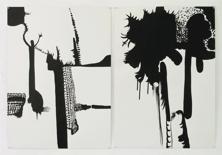 2 Humeurs 2008, 52x72 cm