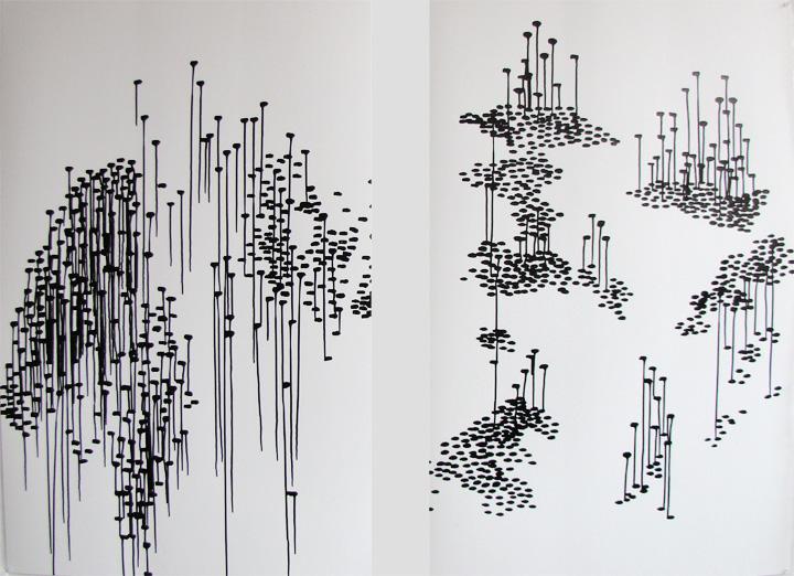 2 dessins 80 x 120 cm / 2013