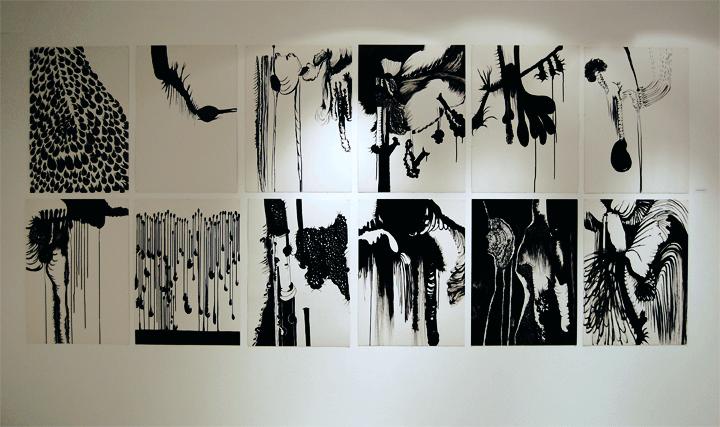 12 Humeurs 2007-2008, 52x72 cm