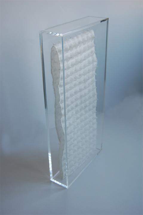 41x19x5 cm, Plexiglass/ 2011